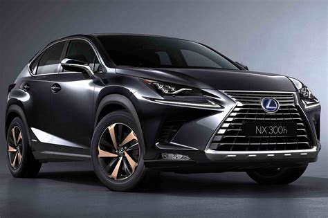 2018 lexus nx shows new design in shanghai