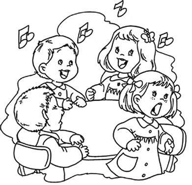 imagenes de niños jugando rondas para colorear imagen para colorear de ninos gratis aqui mariposas para