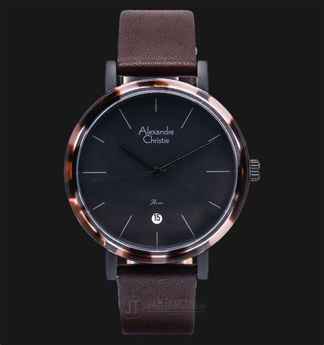 Jam Tangan Alexandre Christie Ac 2674 Ld Brown Box Set alexandre christie ac 2555 ld lipbabo sport black brown leather jamtangan