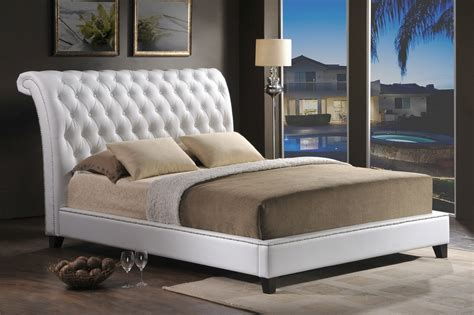 tufted king size bed tufted platform bed king size in wood materials bedroom