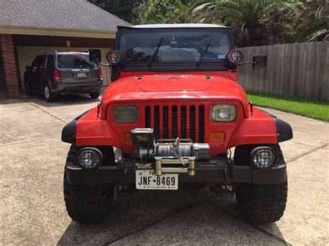 jeep wrangler apocalypse edition 1987 jeep wrangler yj apocalypse edition