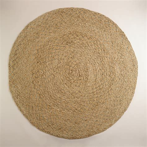 Round Jute Rugs Round Natural Braided Jute Rug World Market