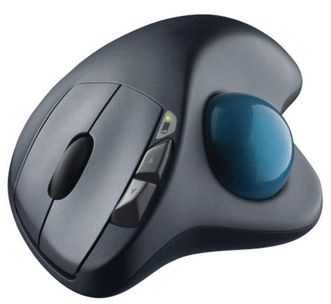 Mouse Wireless Di wireless trackball m570 l anti mouse di logitech tom s hardware