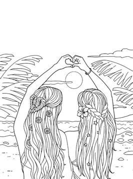 Kids-n-fun.com | 20 coloring pages of BFF