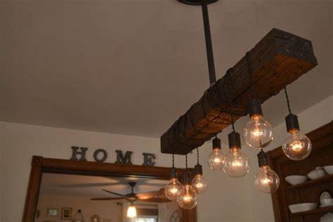 wood beam light fixture farm house light pendant lighting wood light kitchen