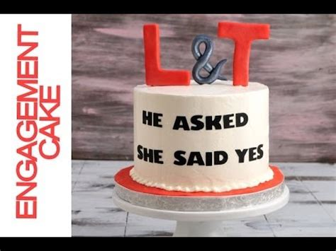 need ideas for engagement cakes engagement cake tutorial how to make an easy monogram