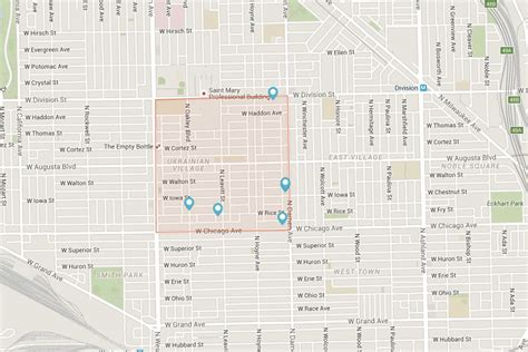 ukrainian chicago map living in chicago s ukrainian neighborhood an