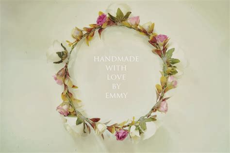 Handmade Flower Crown - emmycubic handmade flower crown