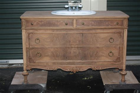 antique dresser bathroom vanity vintage dresser converted into bathroom vanity other