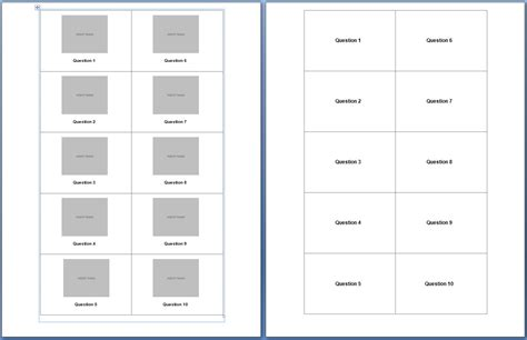 flashcard template for word various kinds of flash card template 215 searchexecutive