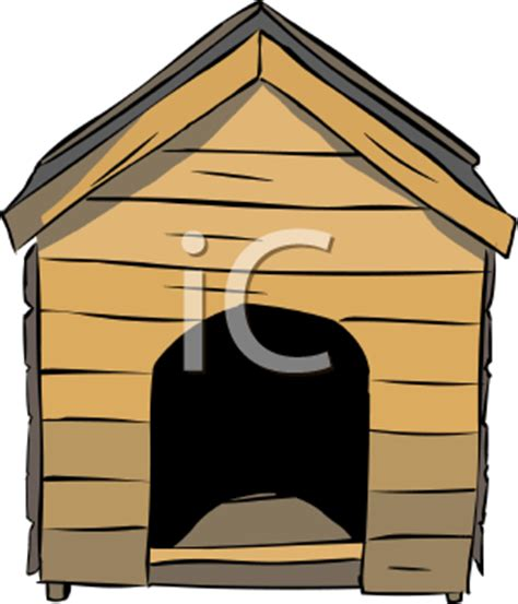 classic dog house classic dog house royalty free clip art illustration