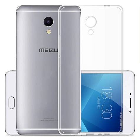 silicon back cover for meizu meilan note5