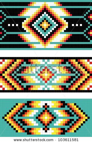 Navajo Rug Patterns Native American Design Stock Images Royalty Free Images