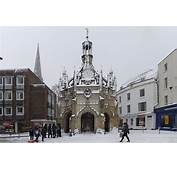 Chichester Web  Market Cross In The Snow