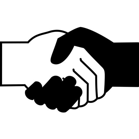 licensing agreement template free file handshake icon black and white svg wikimedia commons