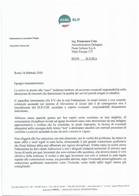 lettere di contestazione disciplinare contestazione disciplinare pcl lettera all