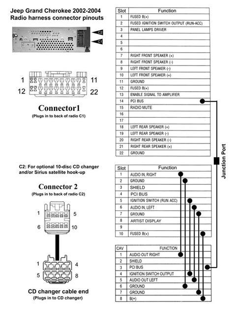 1999 jeep grand radio wiring diagram wiring
