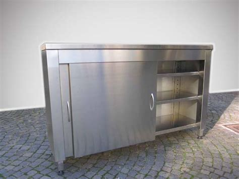 mobile in acciaio mobile in acciaio inox per esterno mancabelli craft