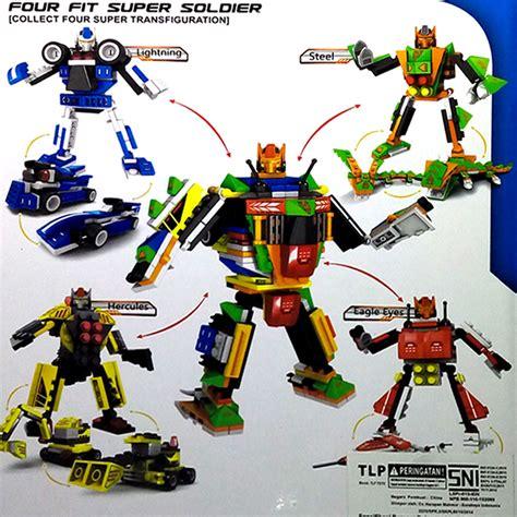 Mainan Robot by Jual Mainan Lego Robot Transformer 3 In 1 Peppo