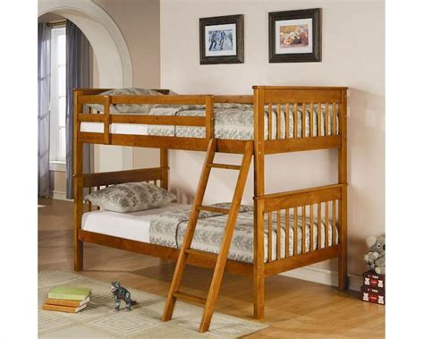 coaster twin loft bed with desk coaster furniture twin over twin bunk bed in pine bunks