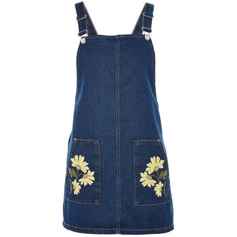 Printed Denim Pinafore Dress best 25 floral print dresses ideas on