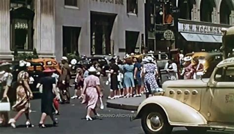 color 10 news 1939 new york in hd color