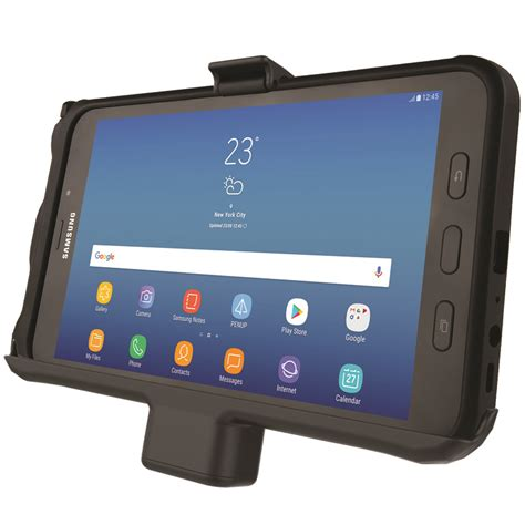 Tablet Samsung 2 Ram ram 174 mounts partners with samsung to offer professional grade powered vehicle cradles and