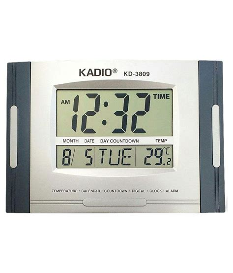 buy digital clock kadio kd 3809 digital wall clock buy kadio kd 3809