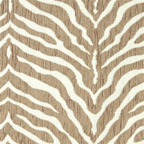What Of Fabric For Upholstery by Beige Zebra Woven Chenille Upholstery Fabric By The Yard
