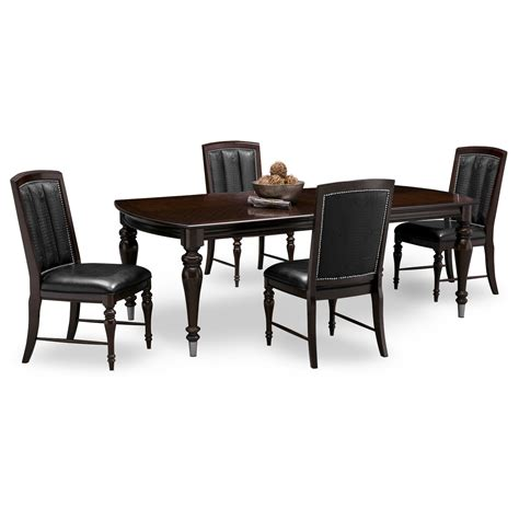 City Furniture Dining Chairs Esquire 7 Pc Dining Room Value City Furniture