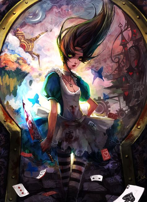 alice madness returns art stuff pinterest