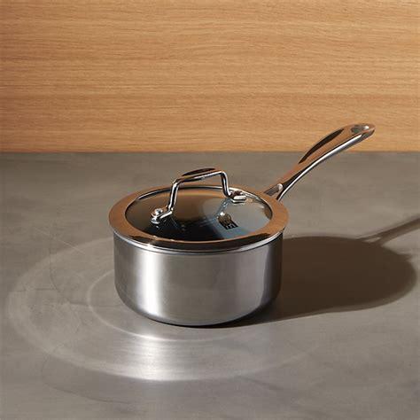 1 qt ceramic saucepan zwilling 174 j a henckels vistaclad ceramic non stick 1 qt