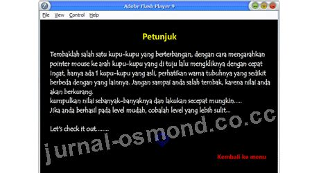 jurnal membuat game flash cs3 membuat game shooter jurnal osmond