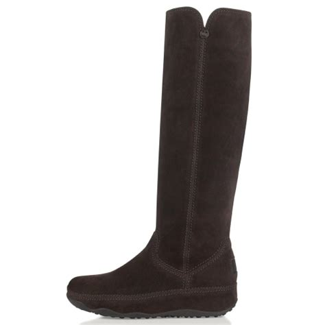 fitflop fitflop superboot womens suede leather mid