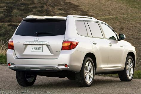 2008 Toyota Highlander Horsepower 2008 Toyota Highlander Specs Pictures Trims Colors
