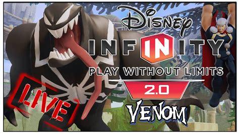 disney infinity venom iron man thor black widow