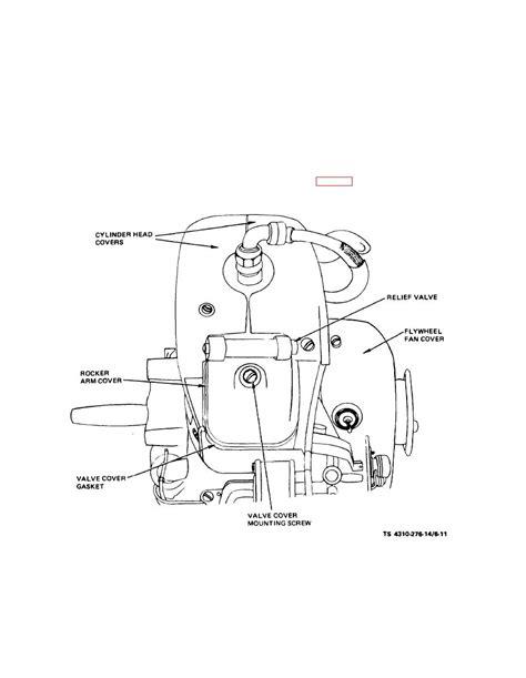 cylinder section section v cylinder head assembly
