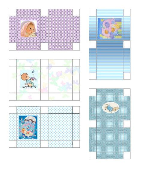 printable dollhouse templates 7 best images of free printable gift boxes free