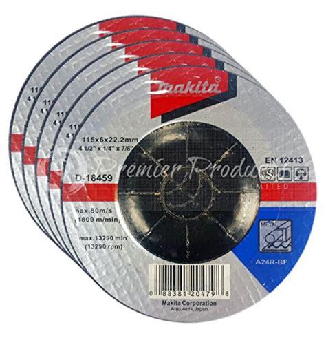 Wheel Makita 4 Inch Cutting Wheel Makita D 40706 makita 5 pack 4 1 2 wheel for grinders