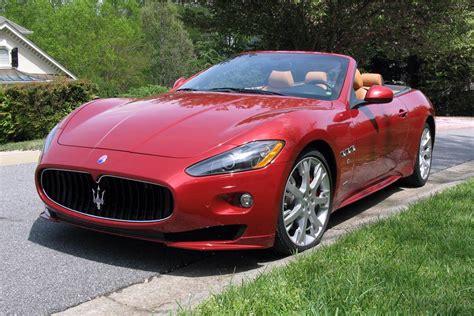 Convertible Maserati 2012 Maserati Granturismo Convertible 185894