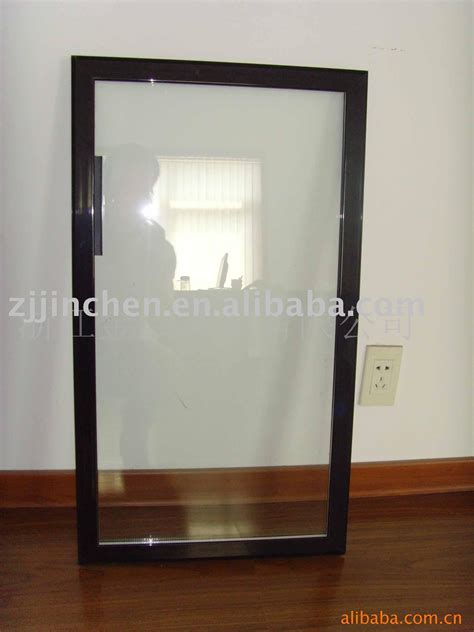 Glass Aluminum Door Aluminum Glass Door For Side By Side Fridge View Aluminum Glass Door Jinchen Jinchen Product