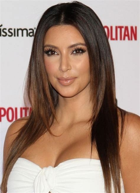 pictures best haircuts for long faces kim kardashian long face short kim kardashian hairstyles center parted layered haircut