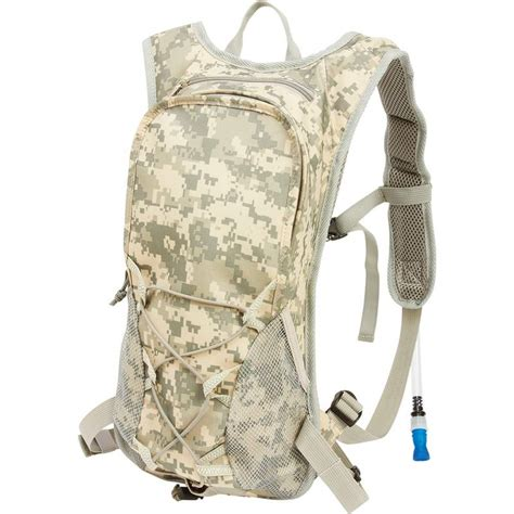 x tone hydration 2qt digital camouflage hydration pack with padded back and