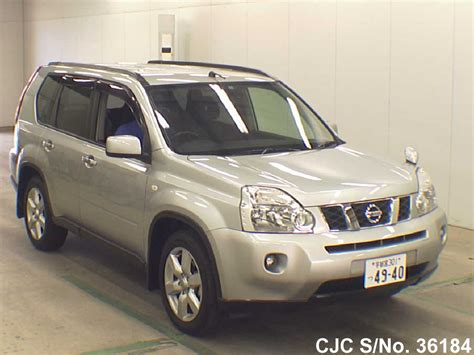 2009 Nissan X Trail 2009 nissan x trail silver for sale stock no 36184