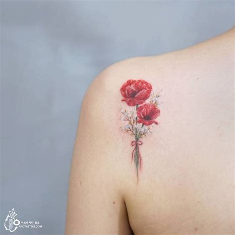 delicate floral tattoo designs by tattooist silo page 2