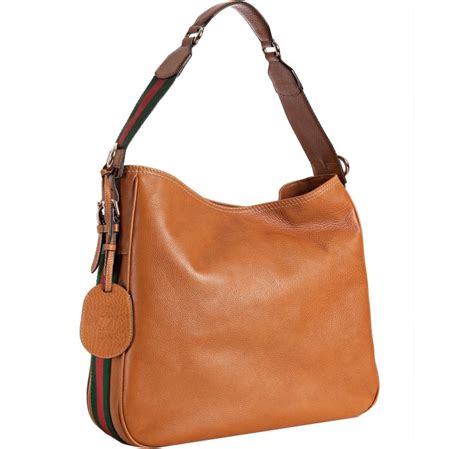 Gucci Color Center Leather Brown gucci cognac leather heritage medium shoulder bag in brown lyst