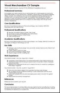 Resume Summary Of Qualifications by Visual Merchandiser Cv Sample Myperfectcv
