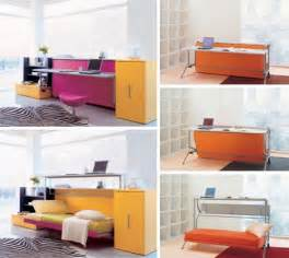 Sofa Desks Convertible Furniture Cool Couch Desk Amp Bed Designs