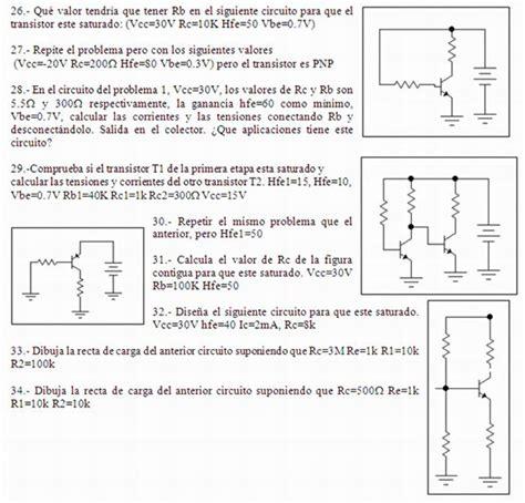 transistor bjt ejercicios resueltos pdf transistor bjt ejercicios resueltos 28 images lificador operacional y transistor bjt pr 225