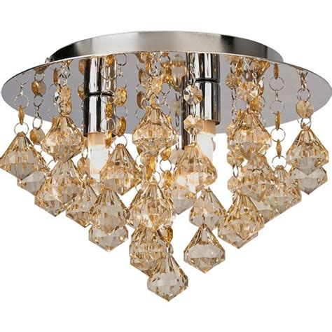 Buy Home Eve 3 Light Ceiling Fitting Champagne At Argos